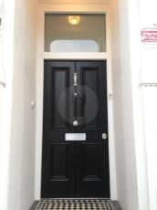 Fort Security Doors 4 Panel Front Door With Silver Embelishment Installed 2