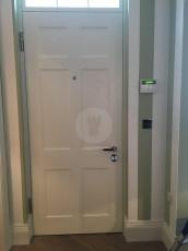 Fort Security Doors 6 Panel Front Door (inside)