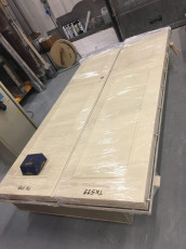 Fort Security Doors Constructed Replica Double Door Ready For Distribution
