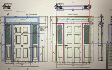 Fort Security Doors Drawings For Front Door 2