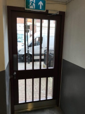 Fort Security Doors Replica Council Entrance Door (inside)
