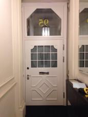 Fort Security Doors Replica Front Door Installed (inside)