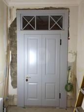 Fort Security Doors Replica Front Door With Transom (inside)