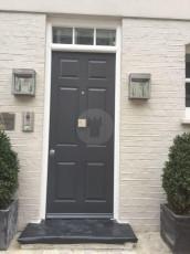 Fort Security Doors Single 6 Panel Front Door