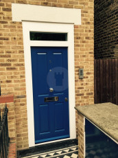 Fort Security Doors Single Front Door With Small Transom