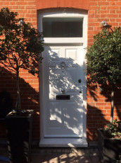 Fort Security Doors White Front Door With Transom