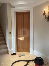 Fort Security Replica Door With Wood Veneer Finish