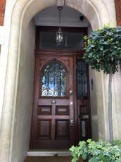 Fort Security Replica Front Door With Fingerprint Reader