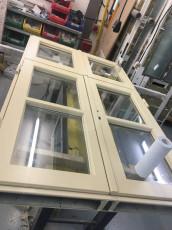 Fort Security Doors Built Bulletproof Casement Window In Assembly Area