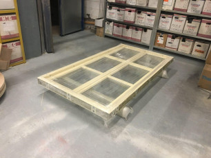 Fort Security Doors Bulletproof Casement Window Ready For Distribution