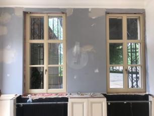 Fort Security Doors Bulletproof Casement Windows Being Installed