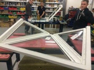 Fort Security Doors Bulletproof Skylight In Assembly Area