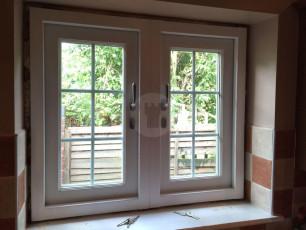 Fort Security Doors Casement Window With 2 Active Openings (inside)