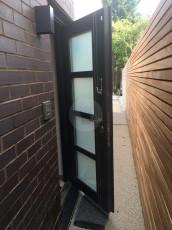 Fort Security Doors Commercial Door With Lock Pad