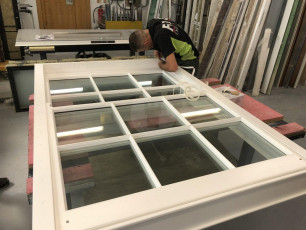 Fort Security Doors Constructed Sash Window In Assembly Area