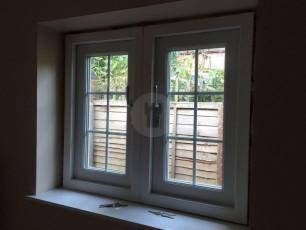 Fort Security Doors Double Casement Window With 2 Active Openings (inside)