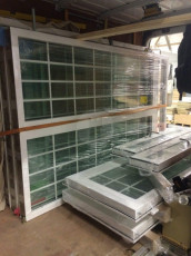Fort Security Doors Finished Casement Windows Ready For Transport 2