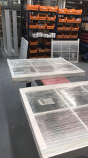Fort Security Doors Finished Sash Windows Ready For Distribution