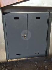 Fort Security Doors Industrial Door With Steel Frame