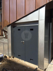 Fort Security Doors Industrial Door With Steel Frame 2