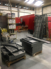 Fort Security Doors Panic Room Wall Panels Ready For Powder Coating 2