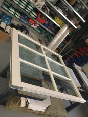 Fort Security Doors Sash Window In Assembly Area
