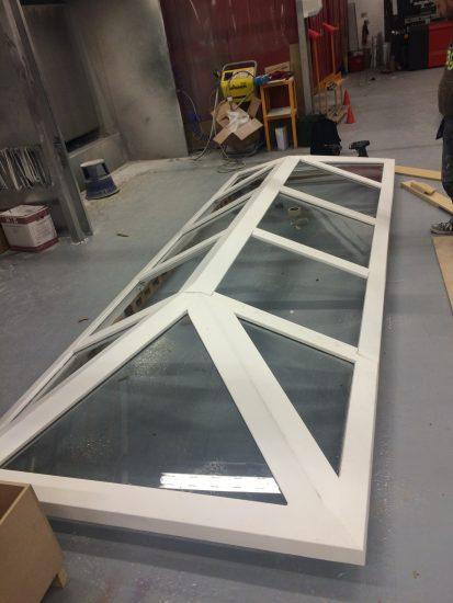 Fort Security Doors Bulletproof Skylight Assembled 2
