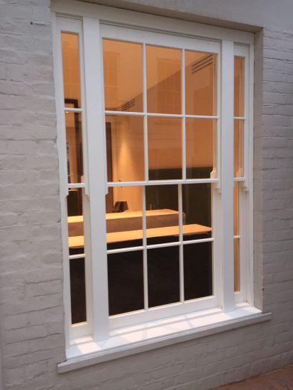 Fort Security Doors Triple Sash Window (installed)