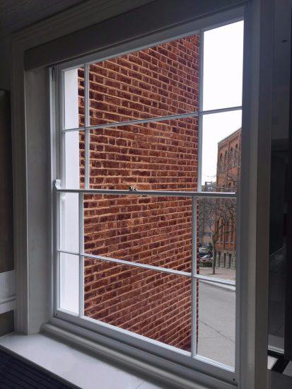 Fort Security Doors White Sash Window