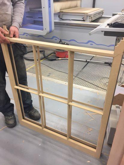 Fort Security Doors Wooden Frame Of Sash Window