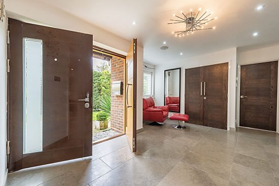 Case Study 2 Fort Security Doors Dd Double Door Contemporary Design Oku1 Okoume1 Luxury Mirror Finish 8